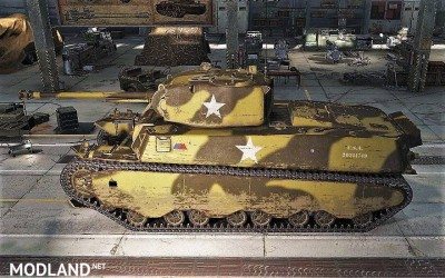 Sgt Krollnikow51's Skin for the american Heavy Tank M6 2.3 [1.3.0.1], 2 photo